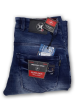 Mens simple terring jeans pant Royal Blue