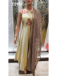 Anarkali Gown  Yellow