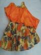 Fancy frock Orange