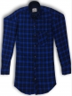Mens shirt  Royal Blue