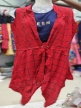 Girls jacket top Red