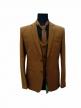 Mens coat pant Brown