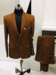 Suit For Mens With Regular Fit Cream Can