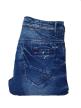 Mens side rinkel jeans pant Royal Blue