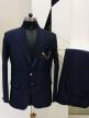 Mens Suit Regular Fit Dark Blue