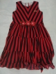 Cotton frock Red