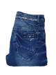 Mens side simple rinkel jeans Dark Blue