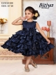 Western wear Navy Blue