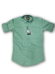 Mens plain shirt Aqua Island