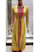 Girls Gown Yellow