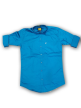 Mens plain shirt Royal Blue