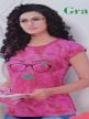 Women night suit Lavender Rose