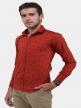 Men printed shirts Scarlet