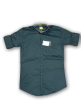 Mens plain shirt Shuttle Gray