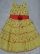 Cotton frock Yellow