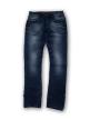 Mens side rinkel jeans pant Navy Blue