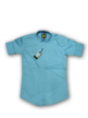 Mens plain shirt Cornflower Blue