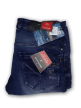 Mens simple terring jeans Royal Blue