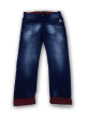 Mens simple terring jeans pant Dark Blue