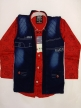 Boy baba suit Red