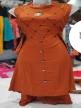 Girls Long top Orange