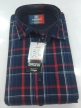 Men's check  shirts 31281 Black