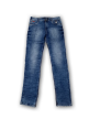 Mens side simple rinkel jeans Royal Blue