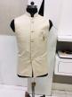 Bandi Fit Nehru Jacket Cream