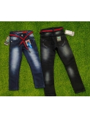 boys denim jeans knitting lycra