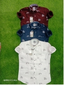 Popular Manufacturer Cotton Printed Shirt