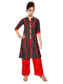 Girls Rayon Short Kurti for Wholesale