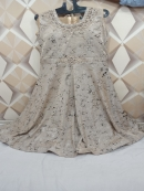 Ladies Embroidered Sleeveless Suits