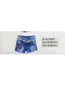 Branded Girls Short Denim Pant
