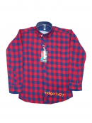 Wholesale Boys Online Check Shirts