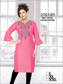 Reyon Kurti with Embroidery Work