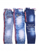 Boys Jeans Knitted Fabric