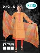 Kurti Kora Silk Salwar Suits for Women