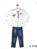 Boy Baba suit two piece ( c 11 611 )