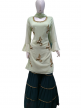 Women Embroidered Sarara for Partywear