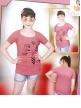 Girls Printed Short Tops