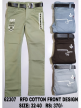 Branded Plain Casual Boys Trousers