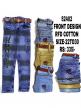 Front design cotton jeans for boys