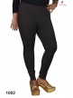 V. cut shape Women Cotton Leggings