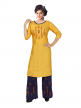Reyon womens kurti with palazzo set