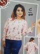 Top Branded Ladies Flower Printed Tops