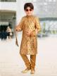 Branded Printed Sherwani for Kids