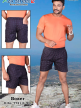 Online Branded Gents Checked Shorts