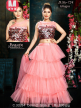 Pary Wear Supper Net Embroidery Ruffle Lehenga