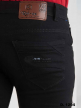 Branded Black Knitting Polo fit Jeans
