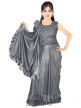 Branded Half Saree Style Gown for Ladies